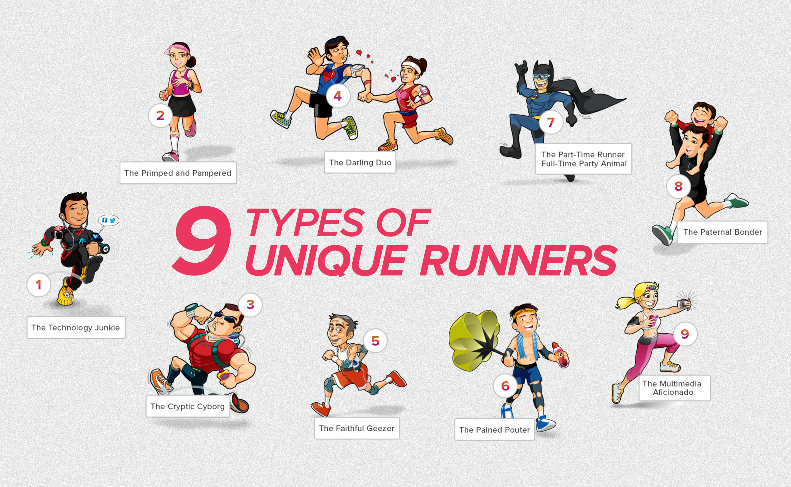 9 Types of Unique Runners