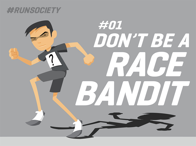 Don't be a race bandit
