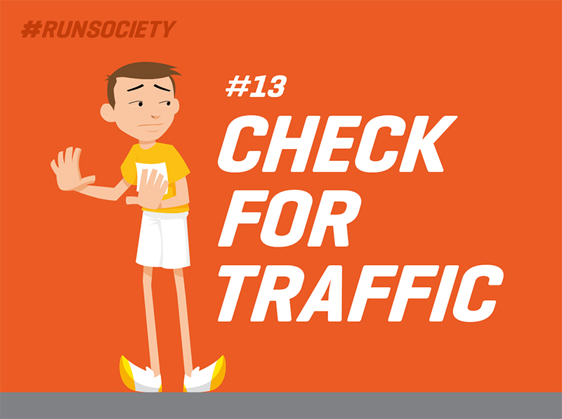 Check for traffic