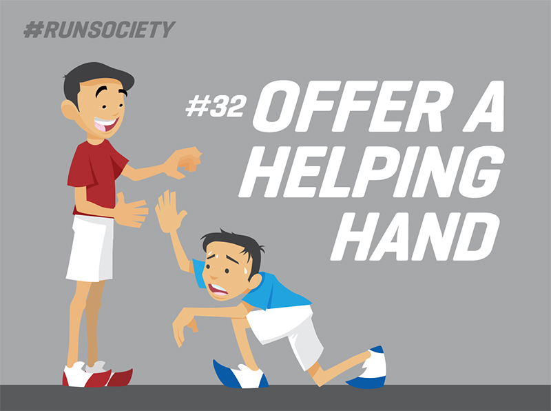 Offer a helping hand