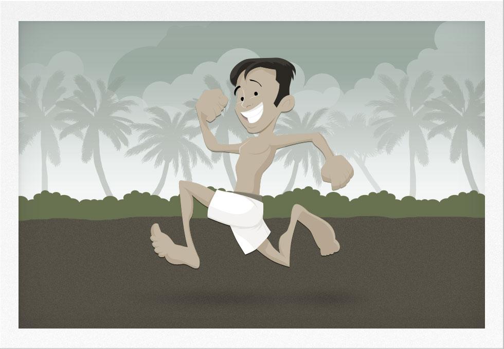 Runner in the 1920s