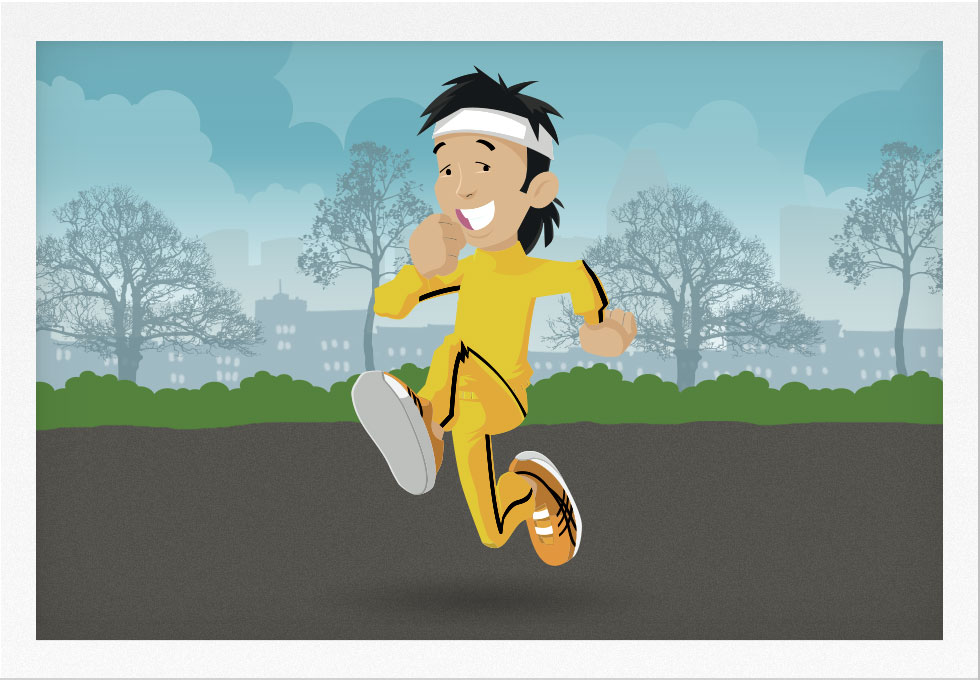 Runner in the 1980s