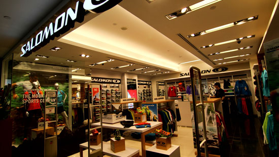 Singapore's first Salomon Branded Store