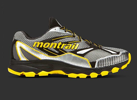 Montrail Badrock in 'Black, Yellow MHW' (Men)