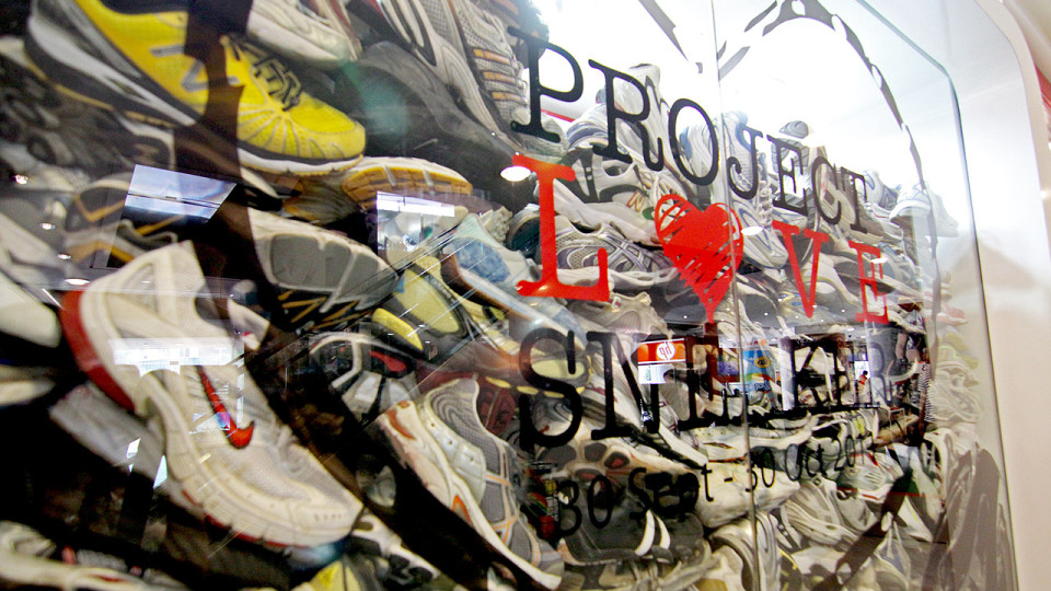 Project Love Sneaker: 1,034 Pairs of Shoes for a Worthy Cause