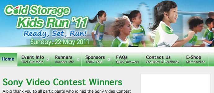 Cold Storage Kids Run 2012