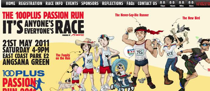Singapore PAssion Run 2012