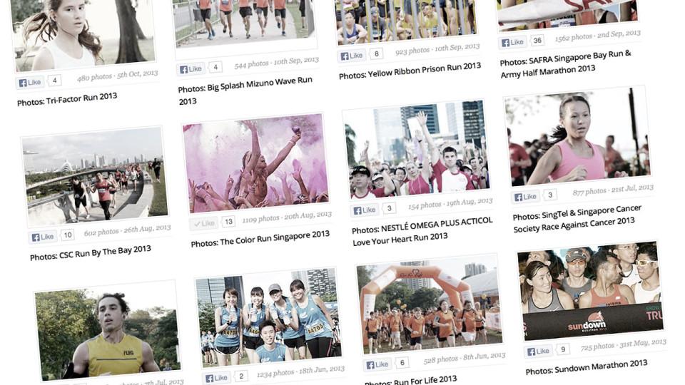 Singapore Running Photo Gallery: Untold Stories Told
