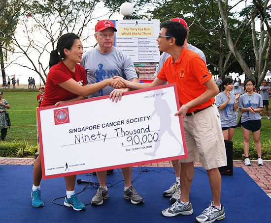 S$90,000 closer to a cure