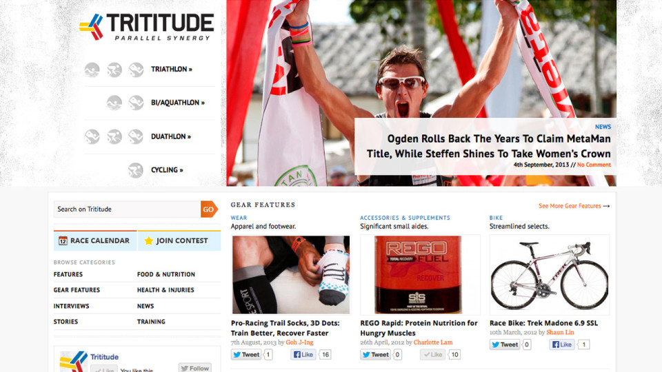 Trititude: Finally Got the Triathlon Scene Covered