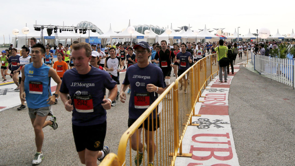 J.P. Morgan Corporate Challenge 2012: Fun Run in Singapore City