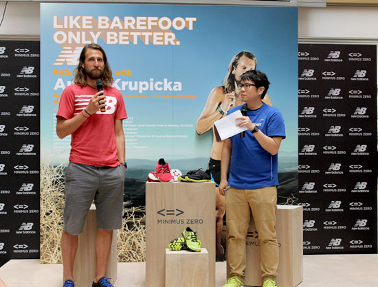 Anton Krupicka launching Minimus Zero shoes