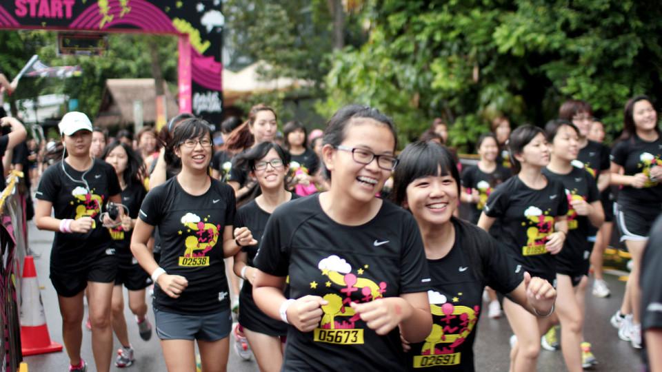 Nike Goddess 2012: Where Best Friends Ruled Running