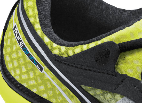 Close up detail of the PureDrift Shoe