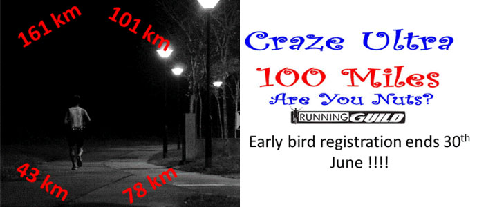 Craze Ultra 100 Miles 2012