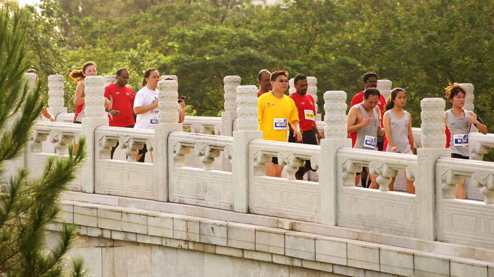 Jurong Lake Run 2012: Running As One