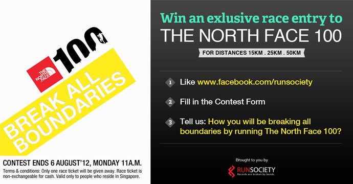 Win an Exclusive Race Entry to The North Face 100 2012