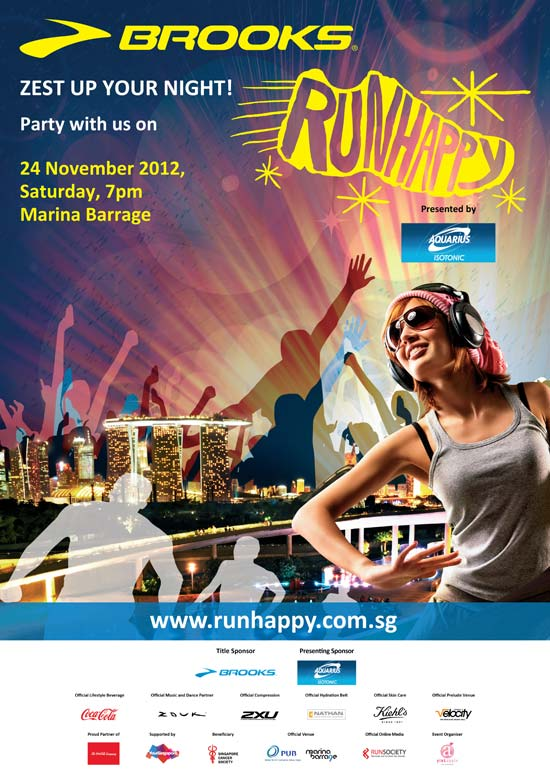 Zest Up Your Night At Run Happy Singapore