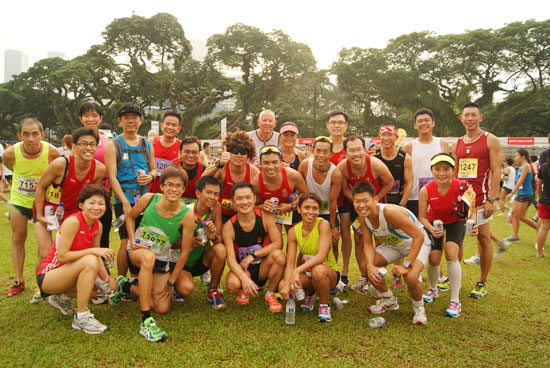 Safra Singapore Bay Run & Army Half Marathon 2012: Big on numbers, Big on familiar faces!