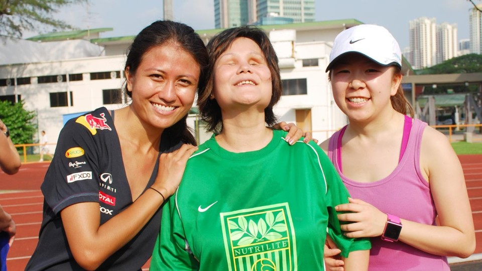 Running Blind: Wai Yee Dreams Big