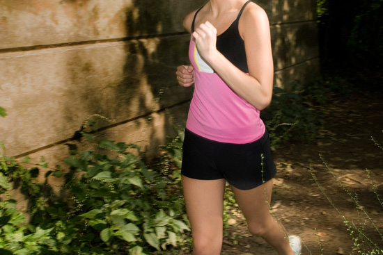 Tip 3: Move your arms not your torso when running.