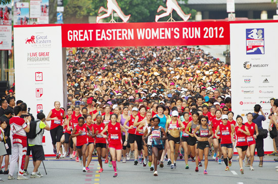 Great Eastern Womens Run 2012: Honest to Goodness Female Camaraderie