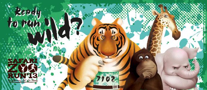 Safari Zoo Run 2013