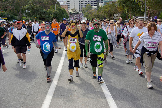 Thoughts from a first-time marathoner: Flashback Perth City to Surf 2012