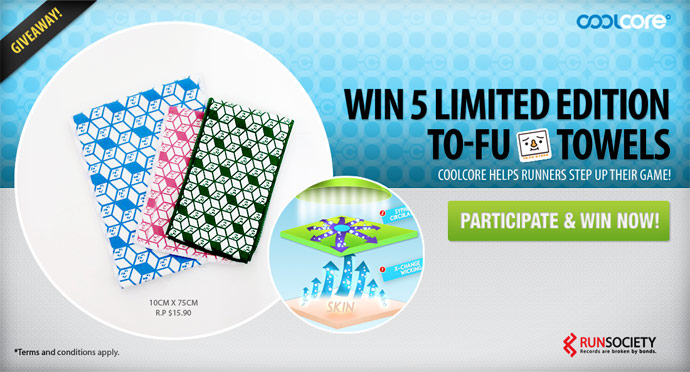 Win 5 LIMITED EDITION CoolCore Tofu Towels!