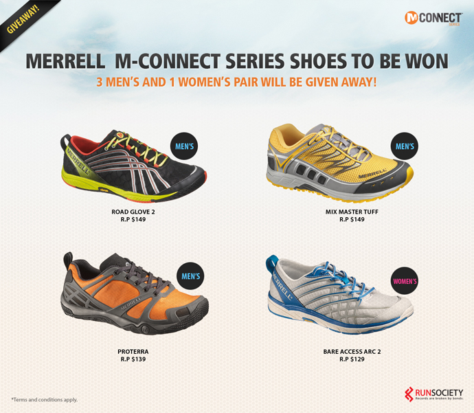 Merrell M-Connect Series Shoes To Be Won