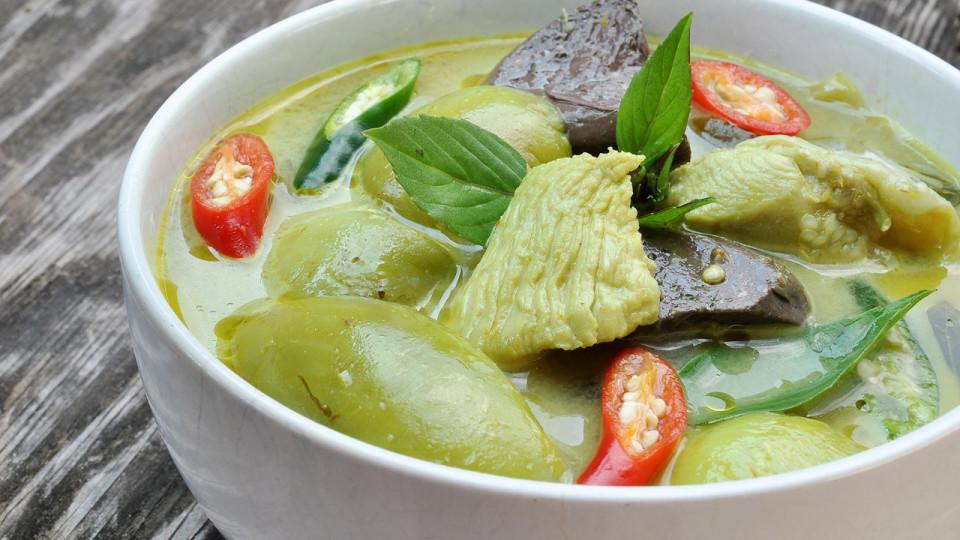 Simple Thai Green Curry Recipe