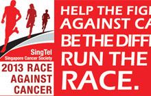 SingTel & Singapore Cancer Society Race Against Cancer 2013