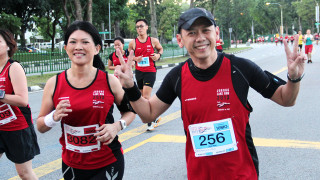 Signature Event In The West, Jurong Lake Run 2013, Includes 850m Kids Dash