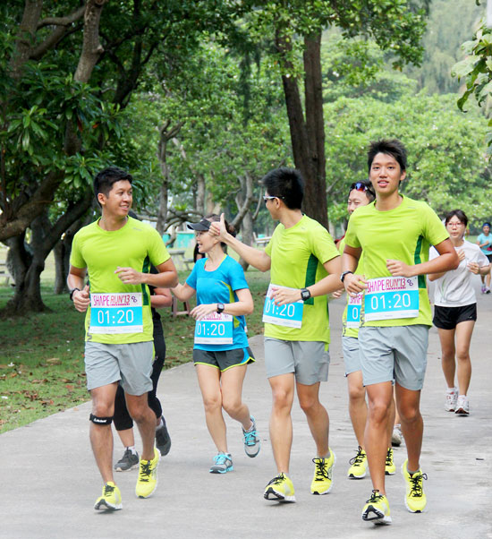 Shape Run 2013: Training with the Pacers