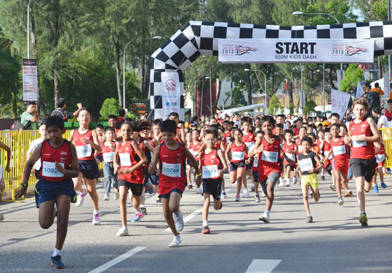 Jurong Lake Run 2013: Running as One