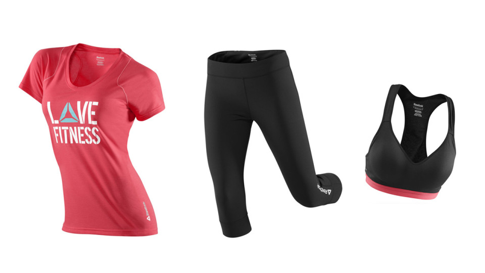 Step Up Your Game With The Reebok Delta Apparel For Women