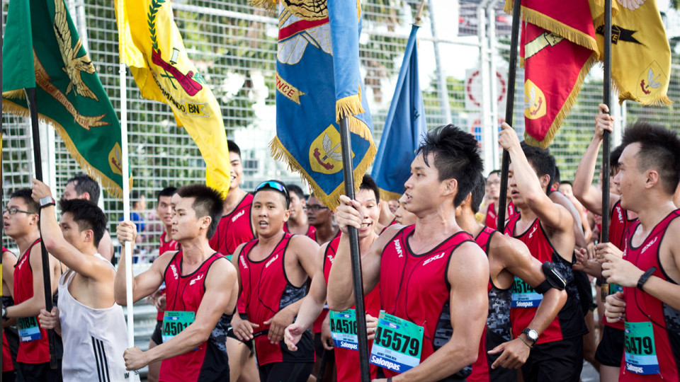 More Than 46,000 Runners Turned Up For the SAFRA Singapore Bay Run & Army Half Marathon 2013