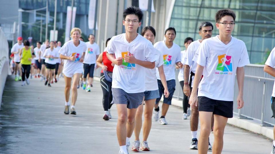Running for Greater Awareness Against Cancer - Run For Hope 2013