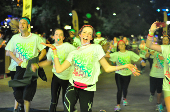 Puma Glow Run: Chasing Down the Party