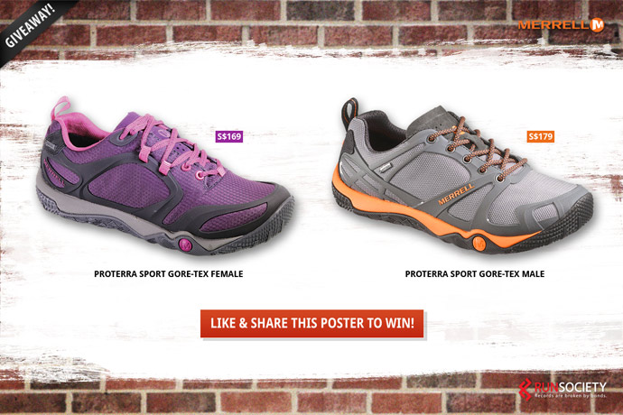 2 pairs of Proterra Sport Gore-Tex Up For Grabs!