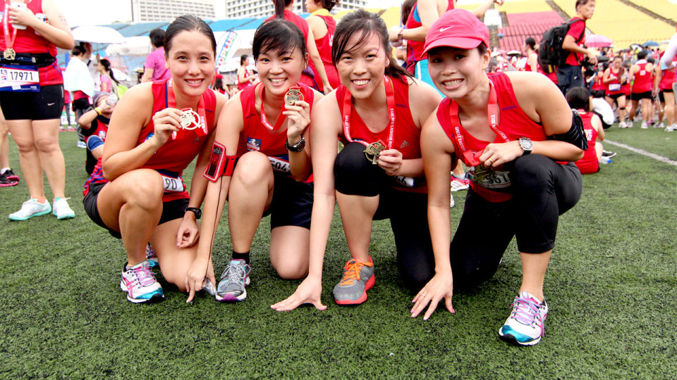 Live Great and Run Hard at the Great Eastern Women's Run Singapore 2013