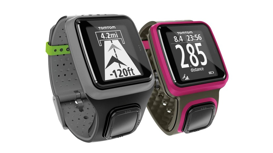TomTom Runner GPS Watch: Train Quickly With Just One Button