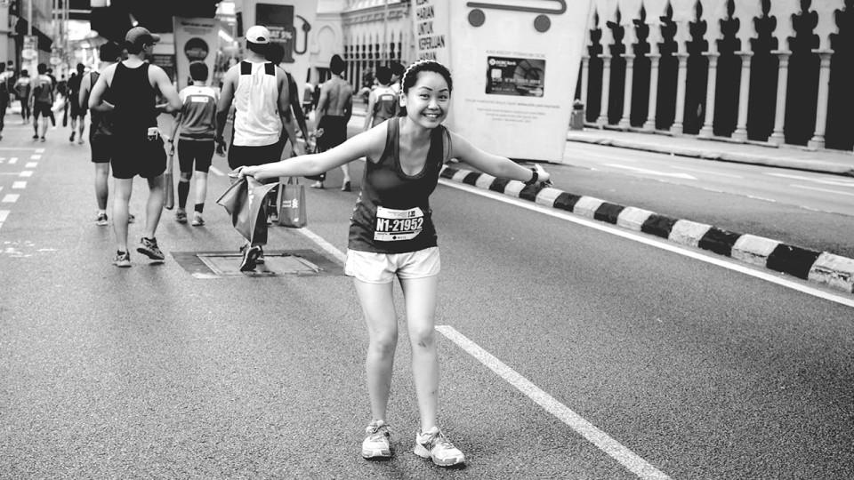 Sim Yan Lin Sets Her Running Sights Down Under