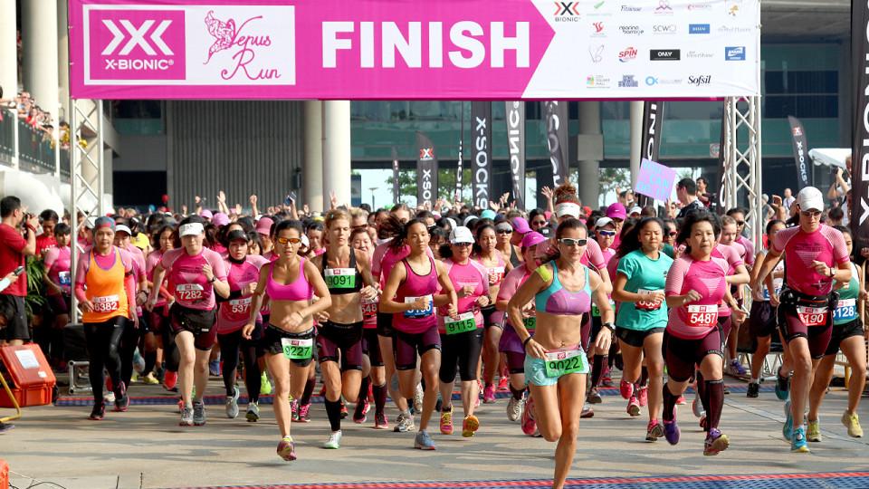 X-BIONIC® Venus Run 2014: What diamonds? Running is MY BEST FRIEND!