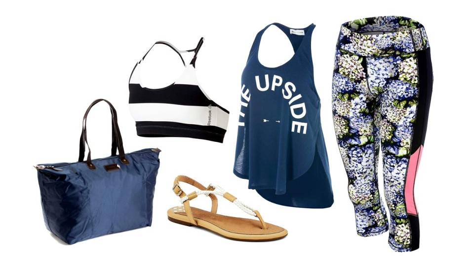 Outfit Of The Week: After Workout Chic In Navy Blue