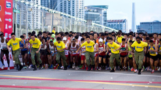 SAFRA Singapore Bay Run & Army Half Marathon 2014: Special Rates And Priority Registration For NSMen And Families