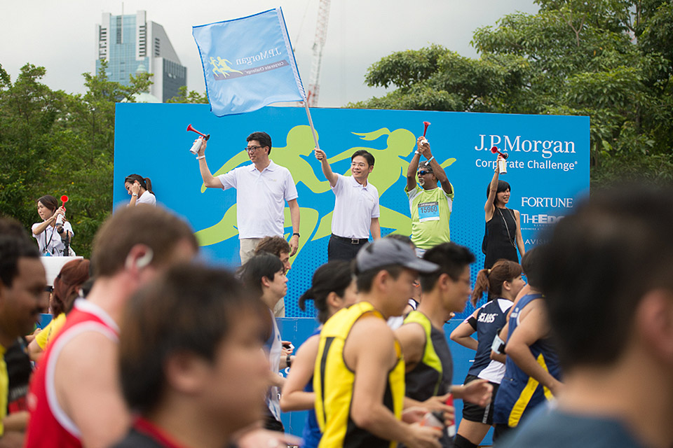J.P. Morgan Corporate Challenge 2014 Attracts Record Crowd of 16,861 Entrants