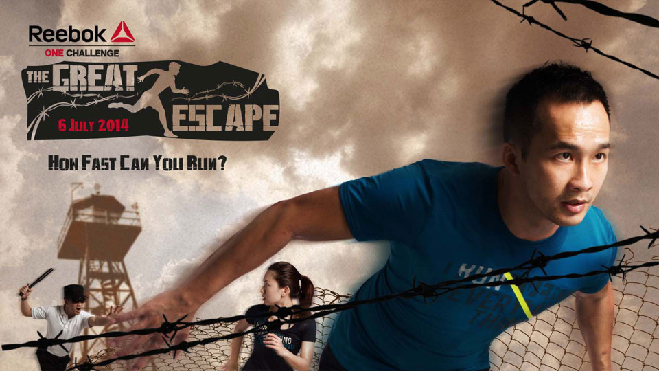Reebok ONE Challenge – The Great Escape: Plot Your Escape And Outrun The Guards!