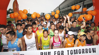 NTUC Income RUN 350 2014: 12,000 Ran For A Greener Tomorrow