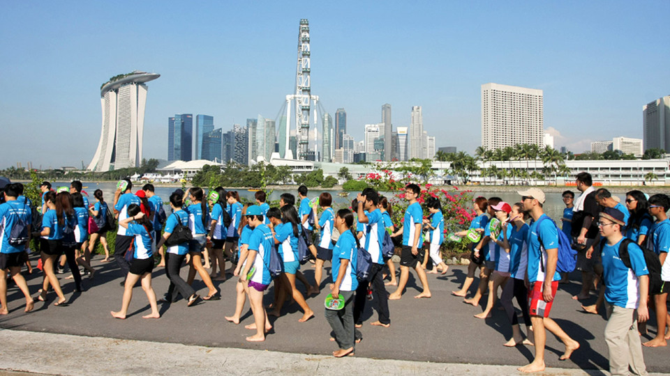 Bare Your Sole 2014: Annual Charity Event Encourages Walking Barefoot for Charity